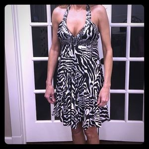 Dresses & Skirts - Zebra Semi-Formal Prom Cruise Formal  Dress